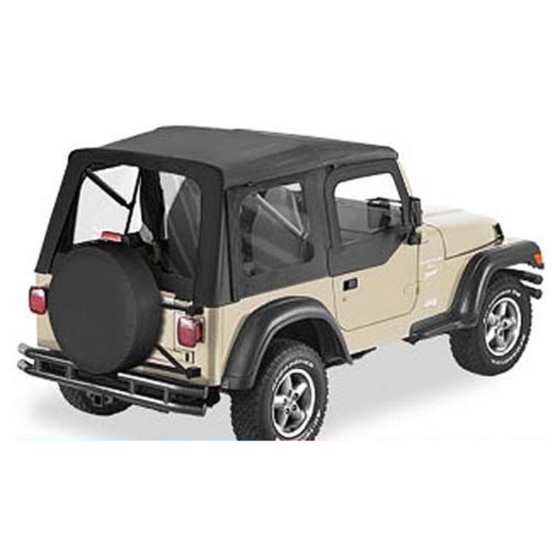 51700 15 supertop black denim wrangler tj f r jeep. Black Bedroom Furniture Sets. Home Design Ideas