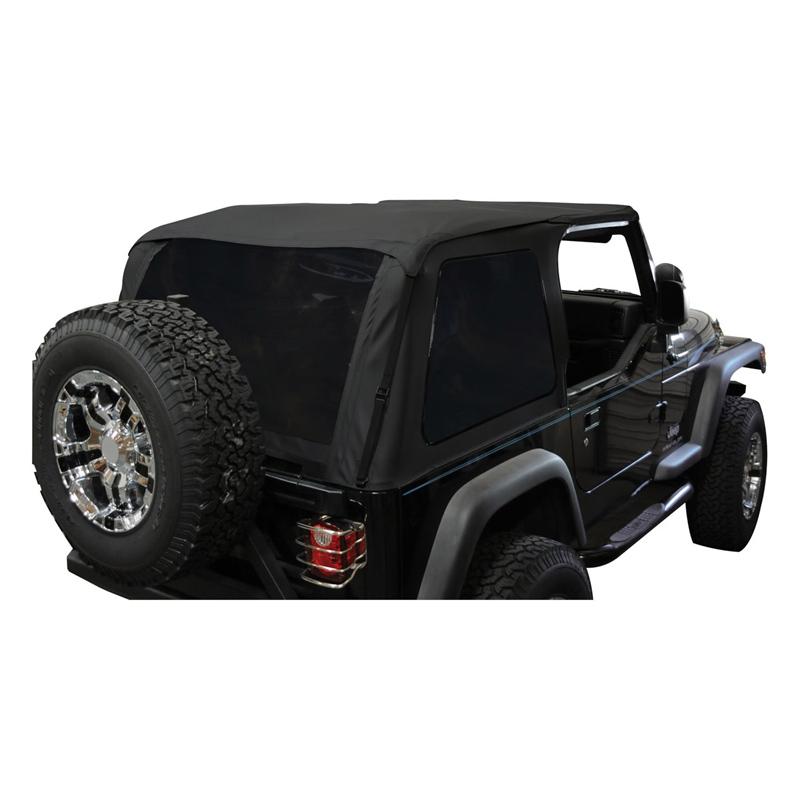 BRT10035 Bowless Soft Top For Jeep Wrangler (TJ)   2.5 L PowerTech (2464  Ccm/87 KW/Petrol)   RBS Handel