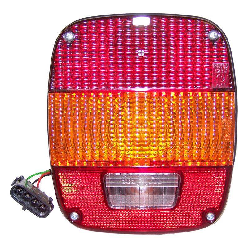 J5764204 Tail Lamp Europe For Jeep Wrangler Yj 2 5 L Amc 150 2464 Ccm 78 89 Kw Petrol Rbs Handel