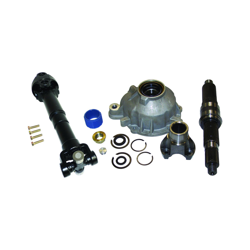 Slip yoke eliminator & HD cv propeller shaft kit